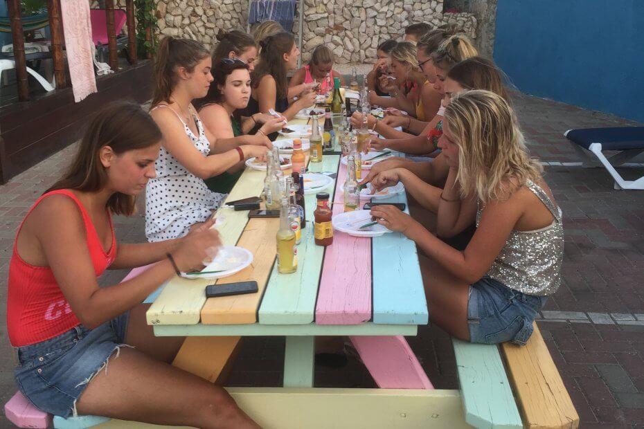 Heerlijk genieten op Curacao