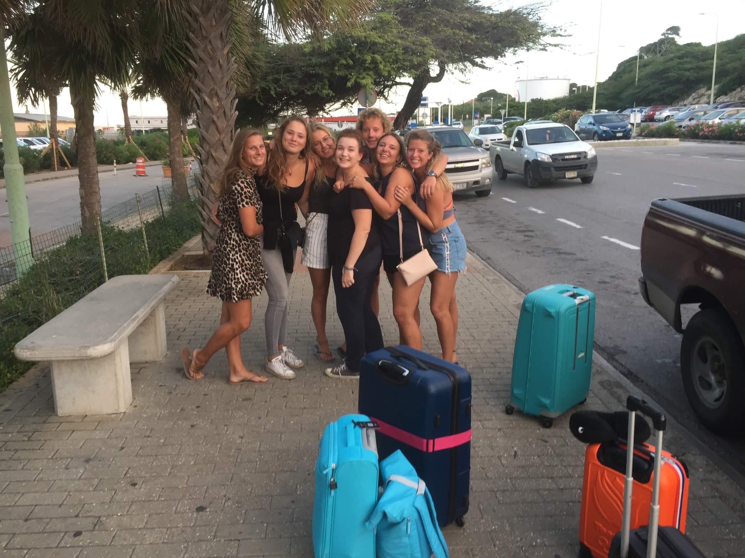 Haal en brengservice Curacao