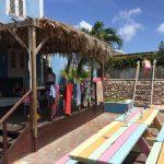 Studenten zwemmen op curaçao