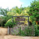 INgang kruidentuin Curacao