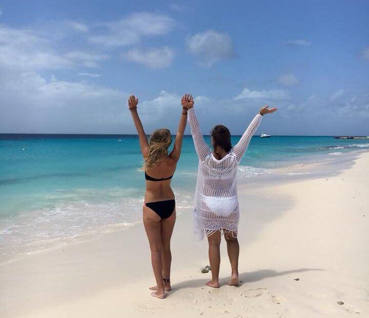 Wandelen op Klein Curacao