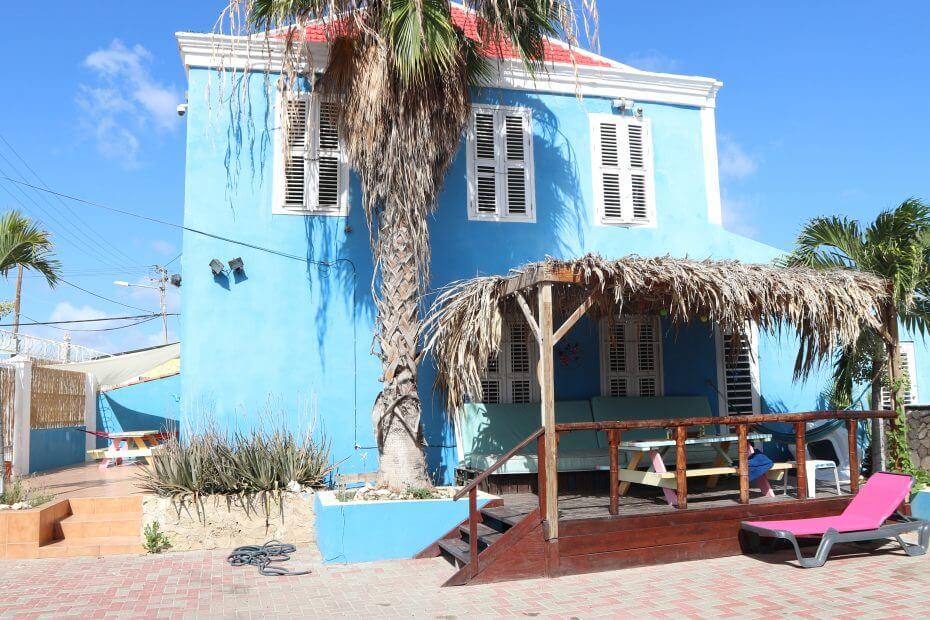 Villa Azul studentenhuis Curacao