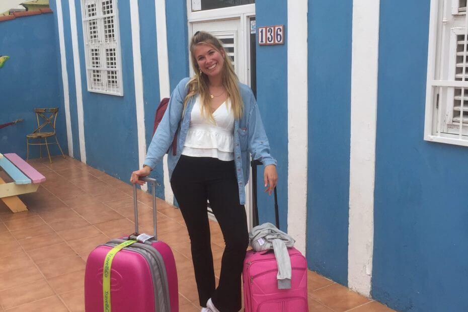 Student wonen op Curacao