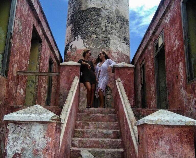 Vuurtoren op Klein Curacao