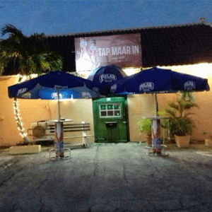 Cafe tap maar in Curacao
